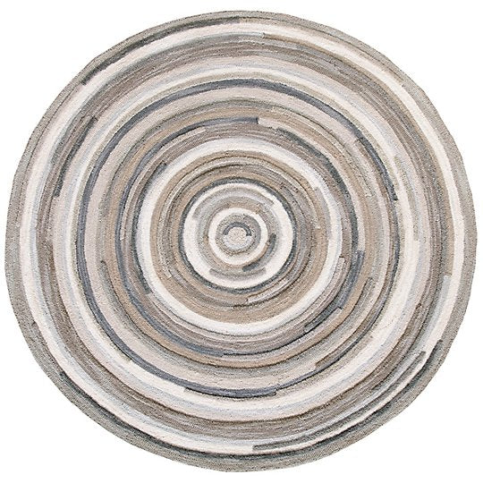 Company C Concentric Rug Round