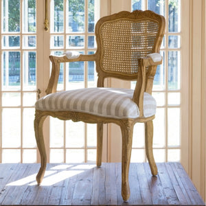 PHC Country Oak and Cane Arm Chair