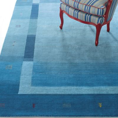 Company C Danube Rug Blue Modeled