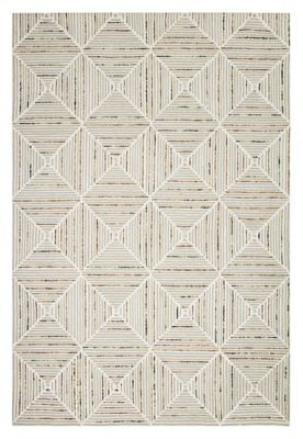 Colorfield Diamond Stripe Rug