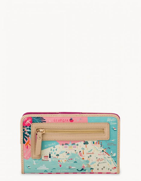Spartina Florida Snap Wallet Back View