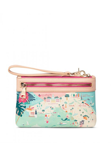 Spartina Florida Scout Wristlet Back View