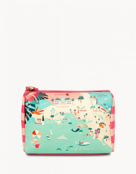 Spartina Florida Carry All Case Back View