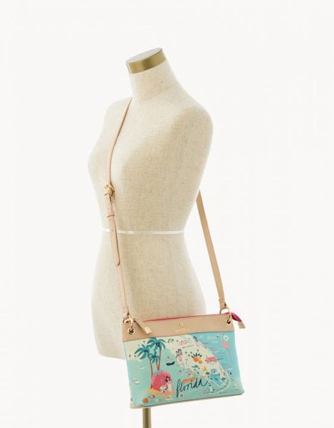Spartina Florida Crossbody Size View