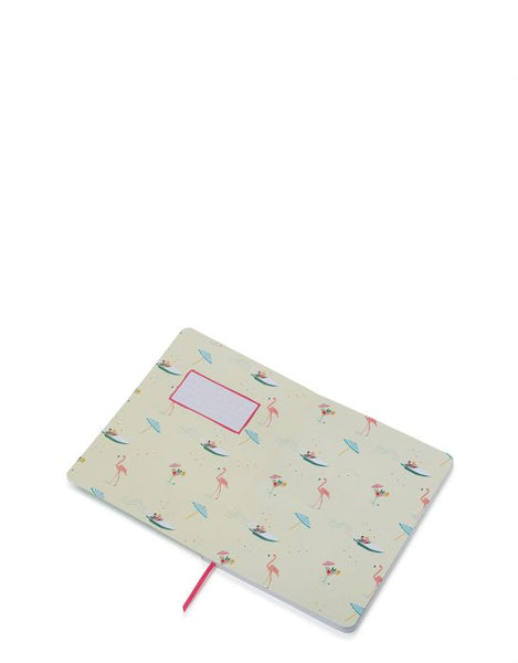Spartina Florida Ruled Notebook Inside Cover View