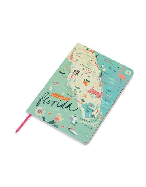 Spartina Florida Ruled Notebook