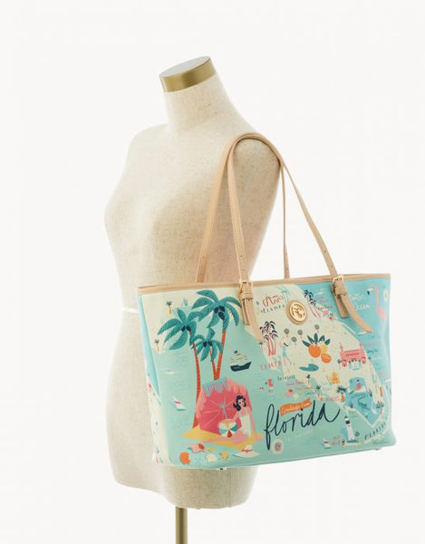Spartina Florida Tote Size View