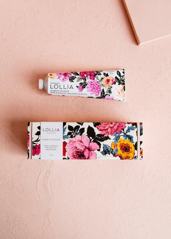 Lollia Always in Rose Shea Butter Hand Cream