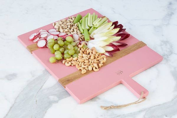 Charcuterie Pink Board by etú Home