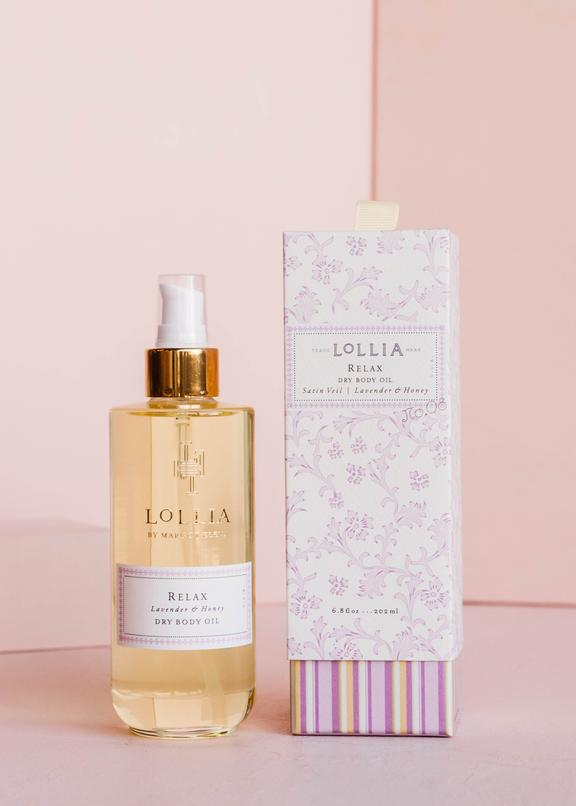 Lollia Relax Dry Body Oil