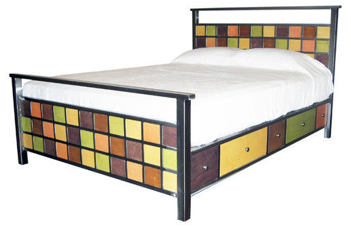 Venezia Furniture Soma Storage bed handmade in America