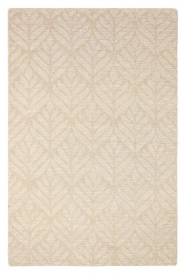 Colorfield Textured Leaf Rug