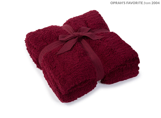 Bourdeaux Barefoot Dreams Cozy Chic Throw