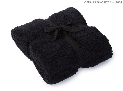 Black Barefoot Dreams Cozy Chic Throw