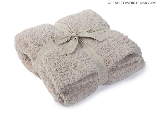Stone Barefoot Dreams Cozy Chic Throw