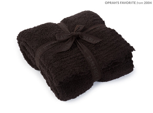 Expresso Barefoot Dreams Cozy Chic Throw