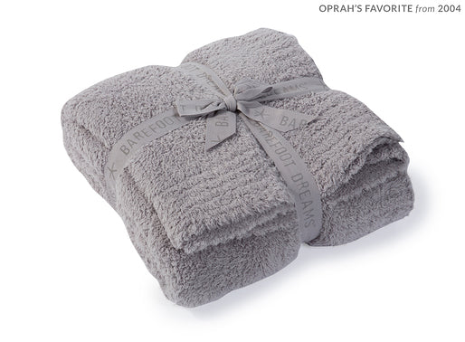 Dove Gray Barefoot Dreams Cozy Chic Throw
