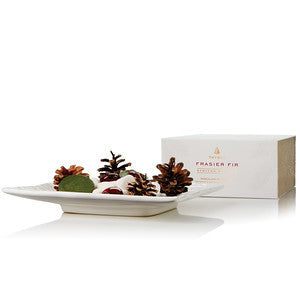 Thymes Frasier Fir Potpourri Porcelain