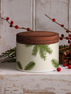 Thymes Frasier Fir Candle Tin Poured Lrg