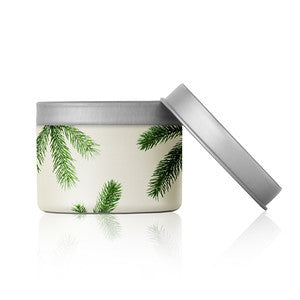 Thymes Frasier Fir Candle Poured Travel Tin