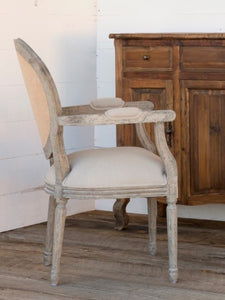 PHC Tufted Back Arm Chair