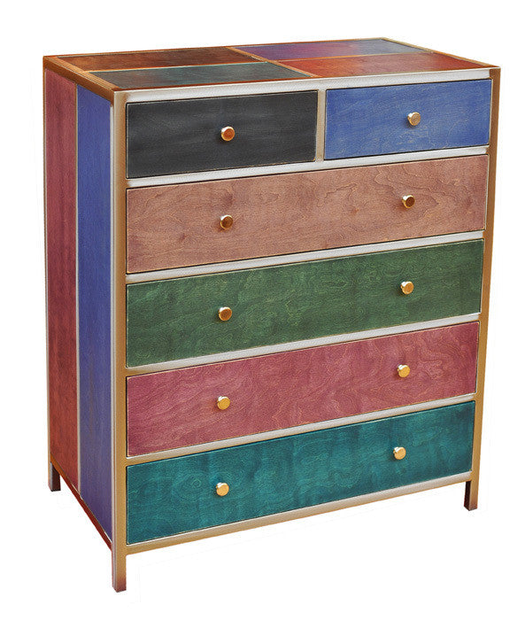 Venezia Furniture six out of five drawer dresser handmade in America