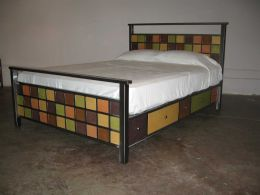 Venezia Furniture Soma Mission bed