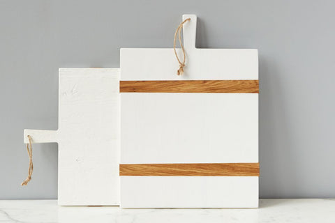 Charcuterie Board White by etú Home