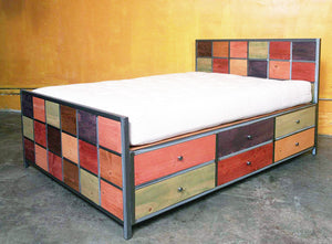 Venezia Bed Twelve Drawer