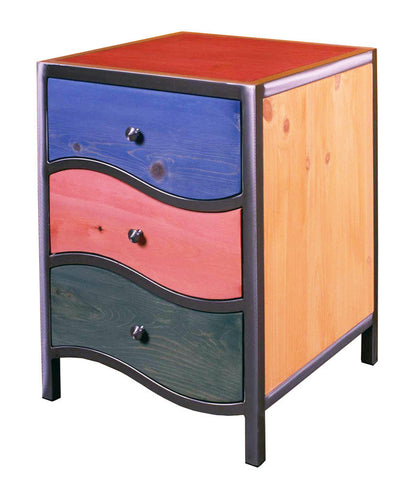 Venezia Night Stand Curves