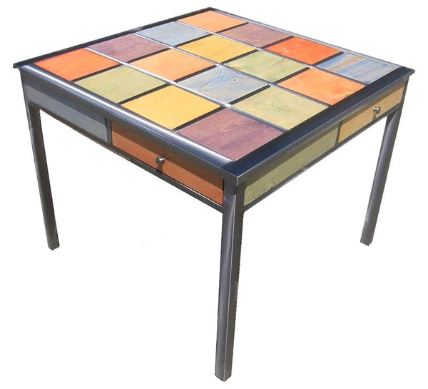 Venezia Table Square 4 Drawer