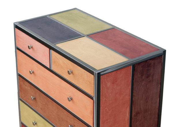 Venezia Furniture dresser top view handmade in america