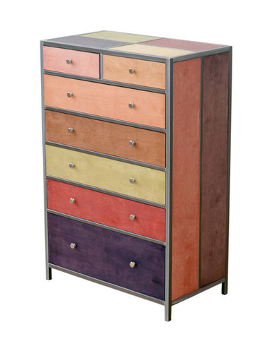 Venezia Furniture seven out of six drawer dresser