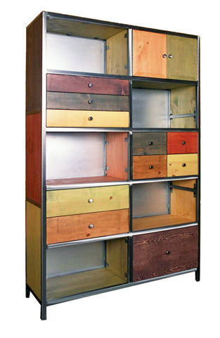 Venezia Furniture large artisan Bookcase Handmade in America