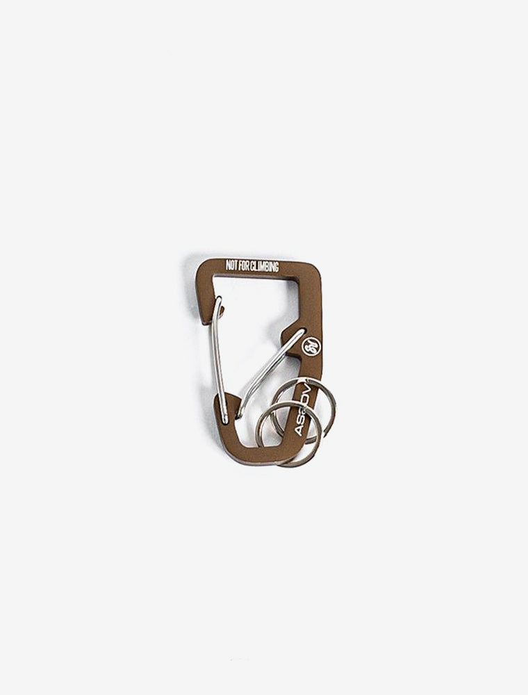 AS2OV DOUBLE CARABINER