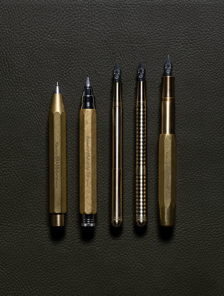BRASS SPORT FOUNTAIN PEN