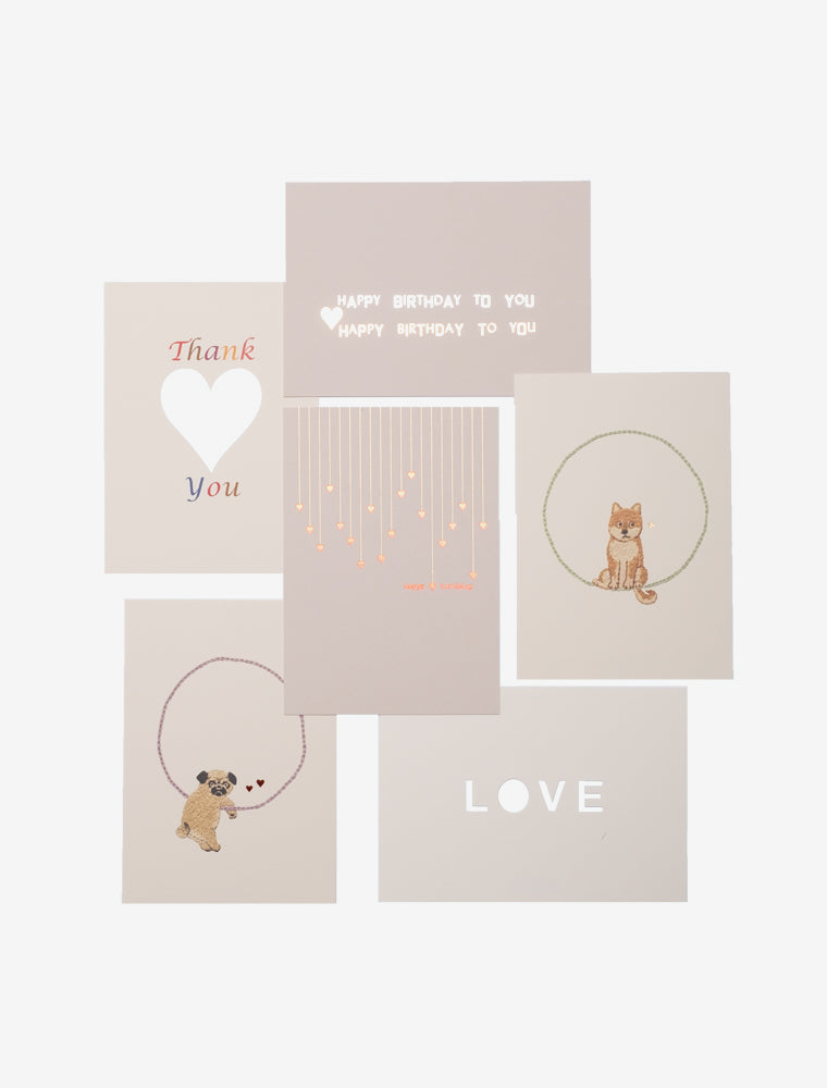 7 DAYS CARDS - PACK OF 10