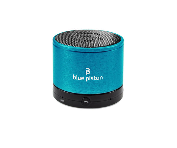 BLUE PISTON WIRELESS RECHARGEABLE SPEAKER
