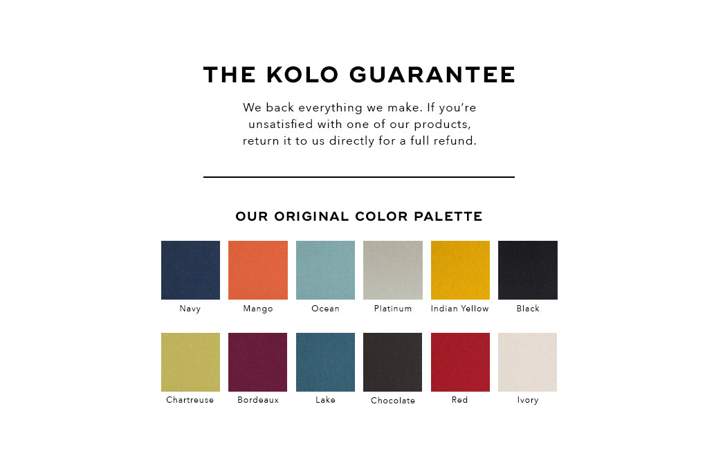 The Kolo Guarantee