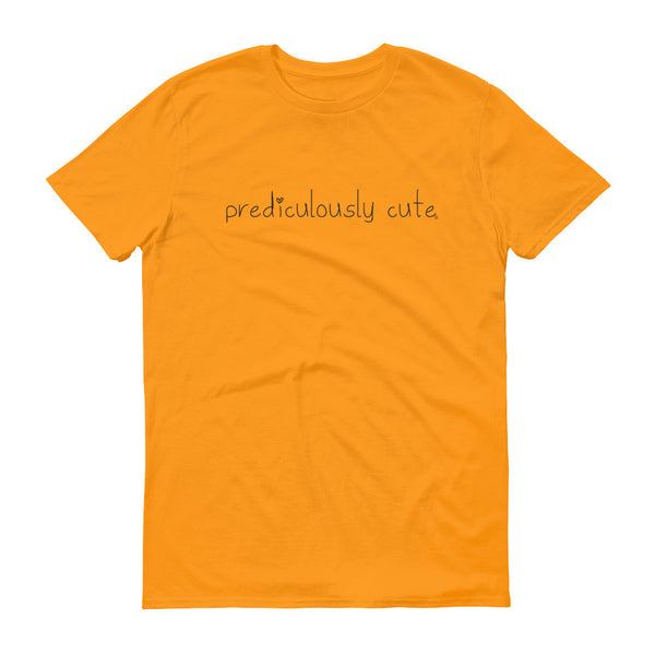 Prediculously Cute with Heart Men's Short sleeve t-shirt