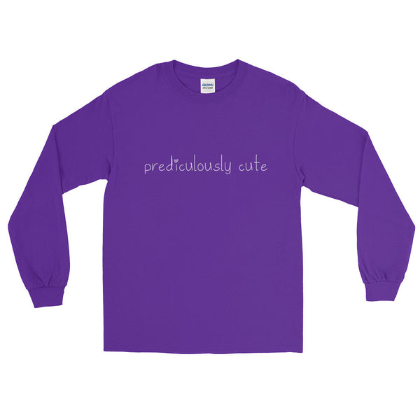 Prediculously Cute with Heart Long Sleeve T-Shirt