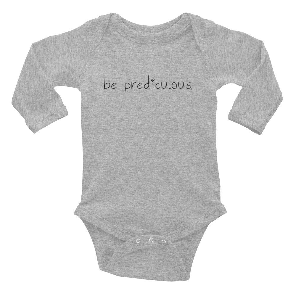 Be Prediculous Infant Long Sleeve Bodysuit