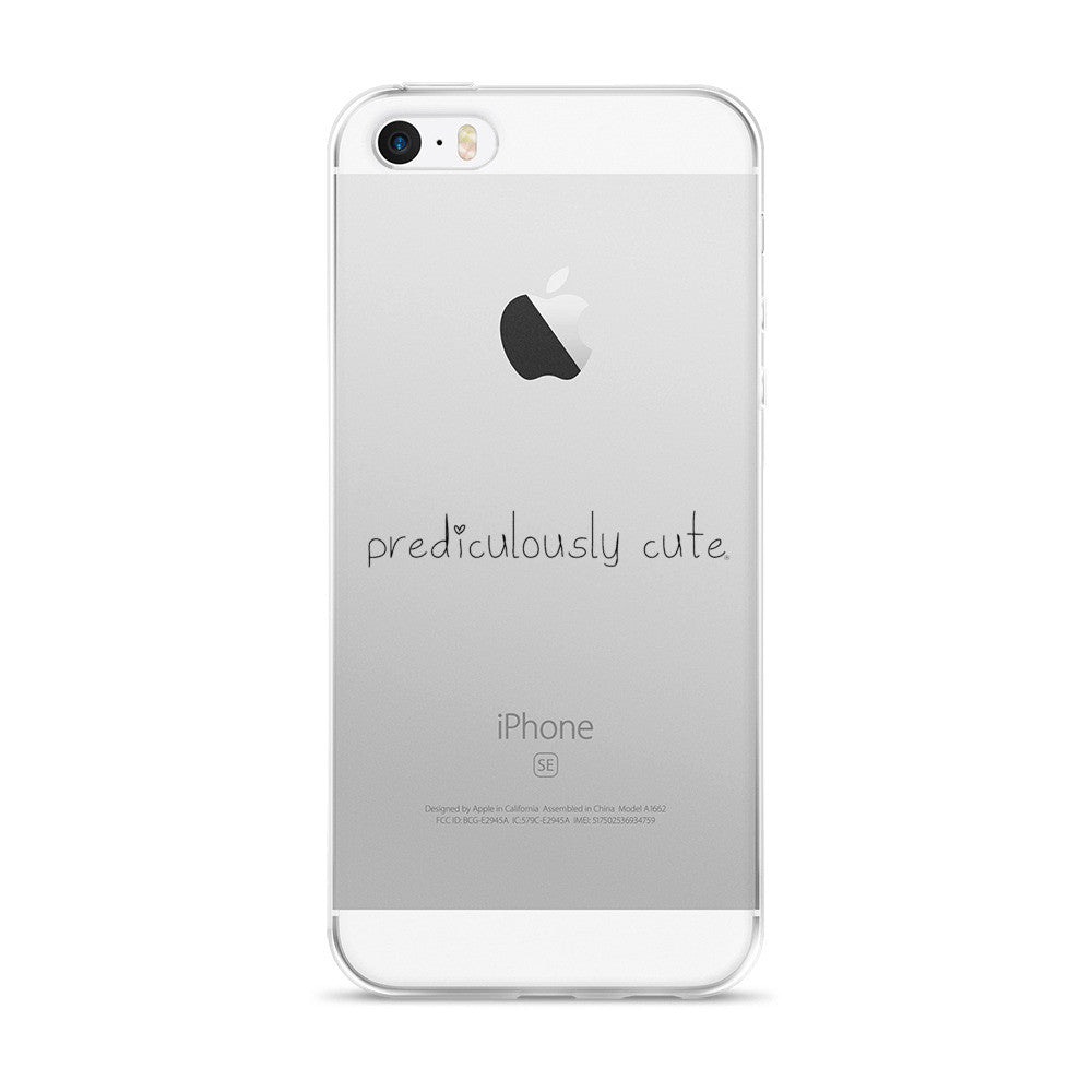 Prediculously Cute with Heart iPhone 5/5s/Se, 6/6s, 6/6s Plus Case