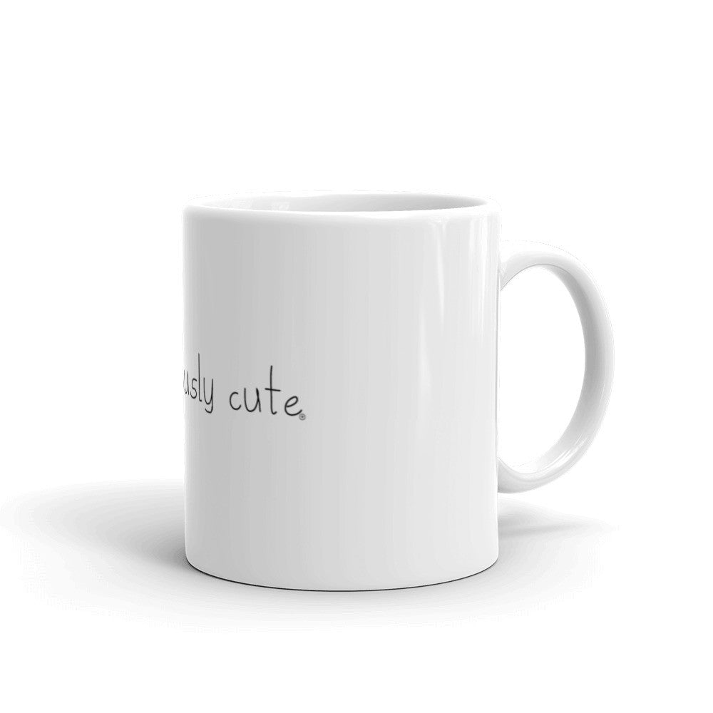Prediculously Cute with Heart Coffee Mug