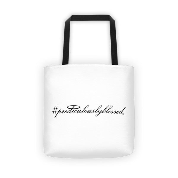 #PrediculouslyBlessed Tote bag