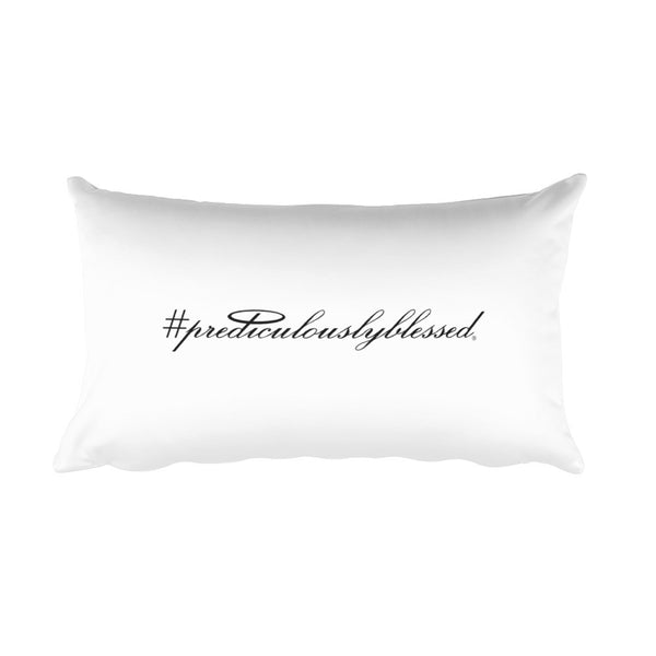 #PrediculouslyBlessed Rectangular Pillow