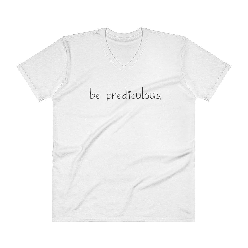 Be Prediculous Men's V-Neck T-Shirt