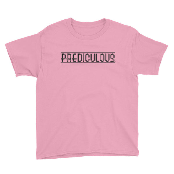 Official Prediculous Logo Youth Short Sleeve T-Shirt