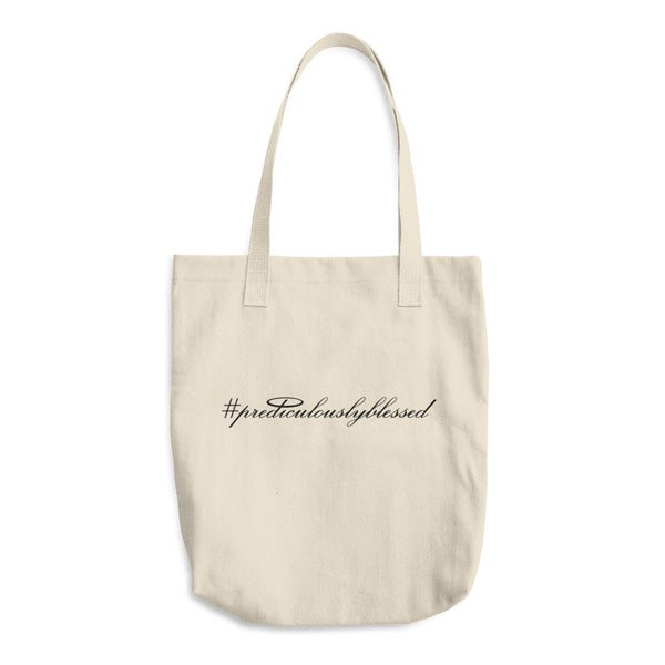 #PrediculouslyBlessed Cotton Tote Bag