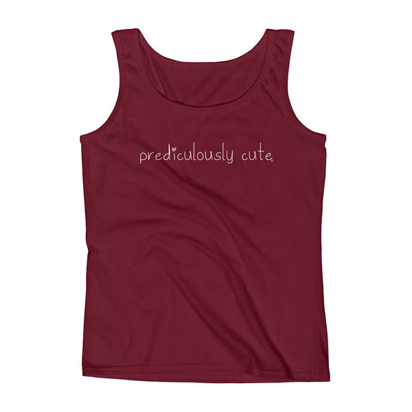 Prediculously Cute with Heart Classic Ladies' Tank